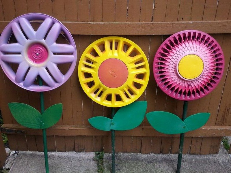 Awesome DIY garden art ideas