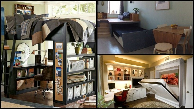 8 Ideas For Maximizing Small Bedroom Space The Owner Builder Network