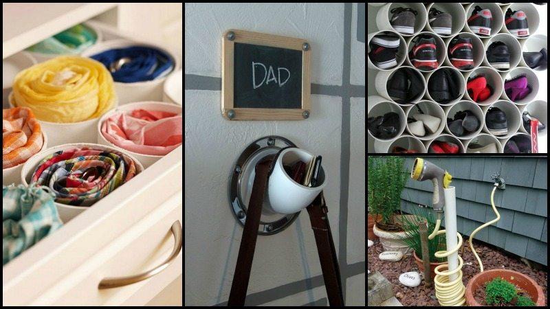 PVC Pipe Organize Home
