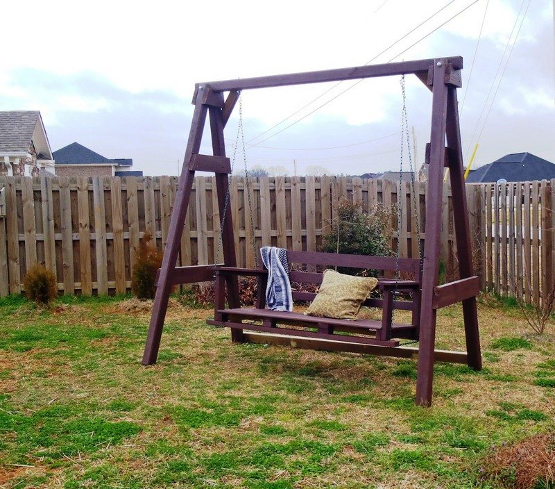 Learn How To Build Swing Seat For Your Backyard – The ...