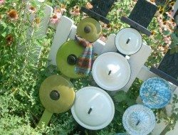 Repurposed Pot Lids