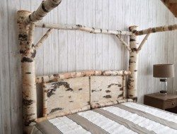 Warm And Inviting Rustic Log Beds The Owner Builder Network