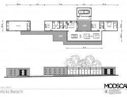 Merricks Beach by Modscape - floorplan