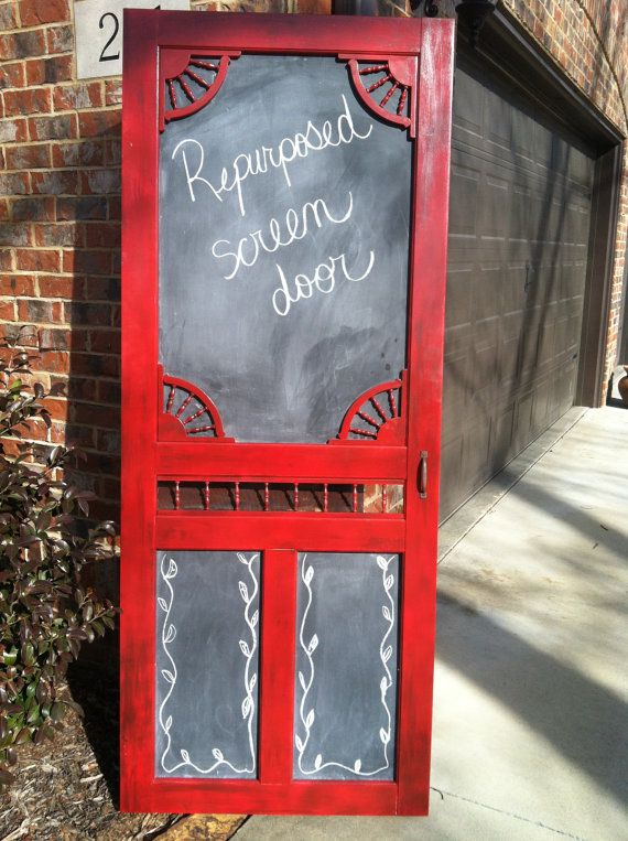 Clever old screen door ideas The OwnerBuilder Network - Old Screen Door Pantry