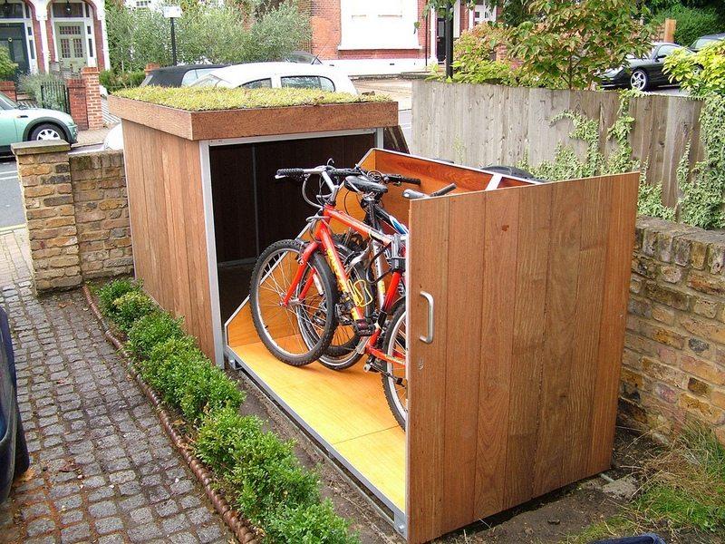 Bike Storage With Greenroof