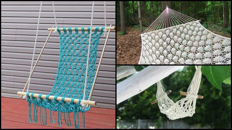 crocheted hammocks how to make a crocheted hammock   diy crocheted hammock  rh   theownerbuilder work co