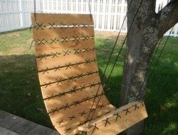 Paracord Pallet Hanging Chair