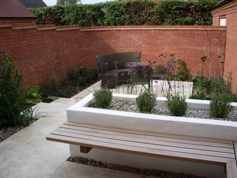 Raised garden bed with benches the owner builder network