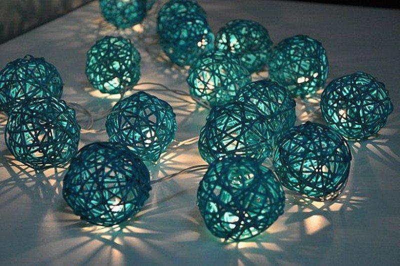 Rattan Ball Lights