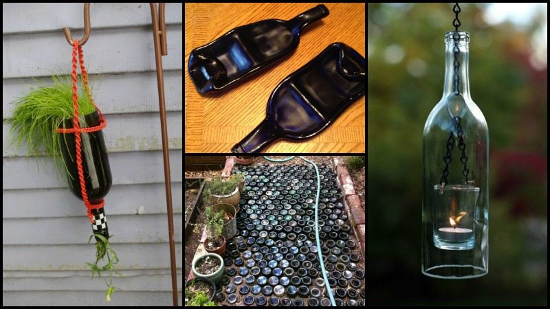 Recycled Wine Bottle Ideas