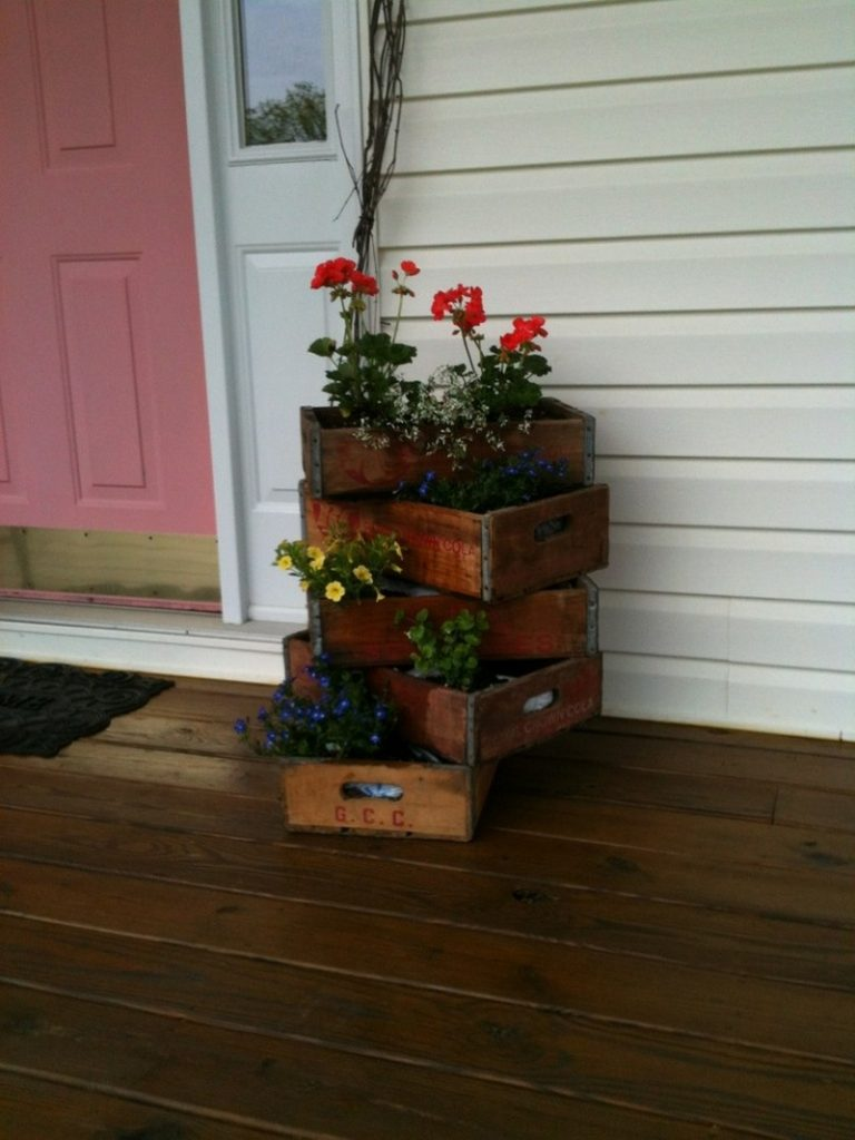 Soda Crates - Planter