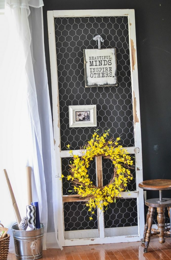 Old Screen Door Ideas.Clever Old Screen Door Ideas The Owner Builder Network