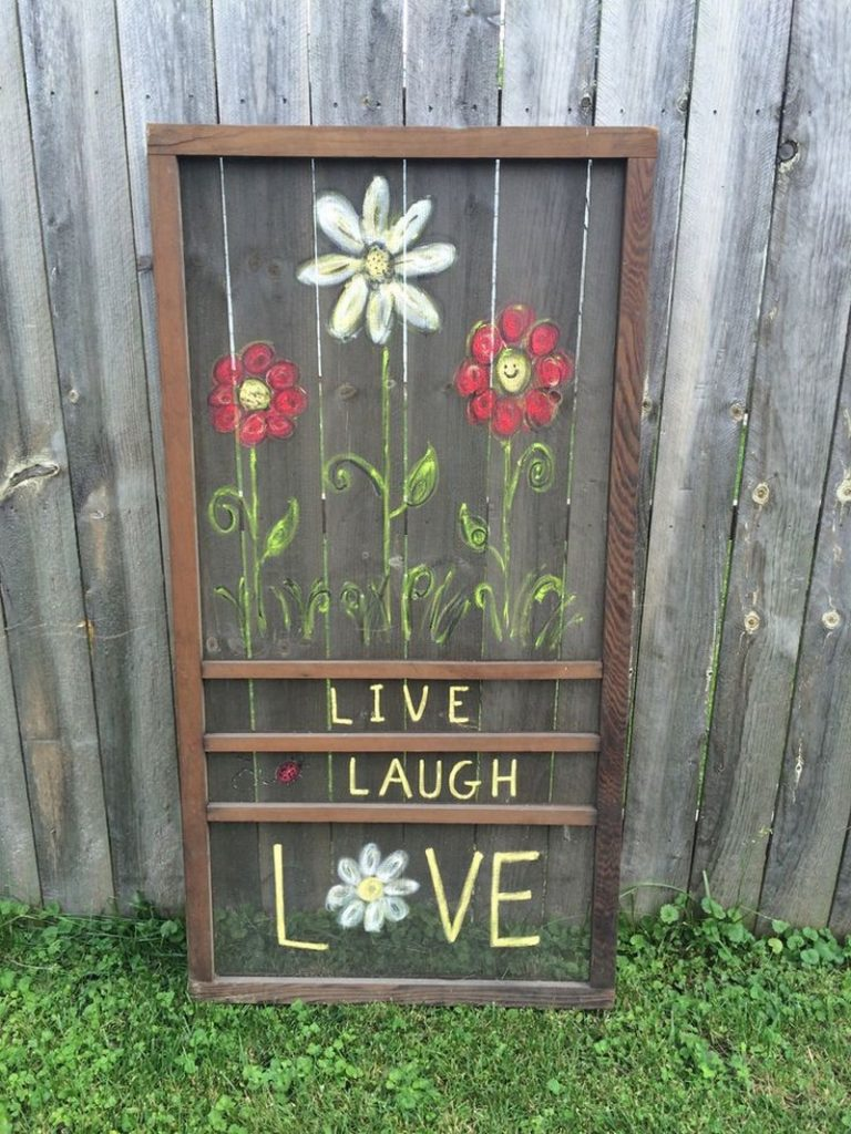 Clever old screen door ideas : Upcycled Screen Door 08 from theownerbuildernetwork.co size 768 x 1024 jpeg 163kB