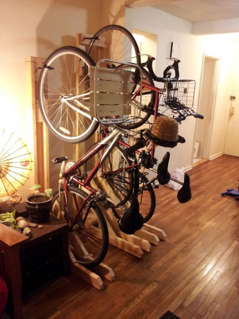 best space saving bike rack solutions