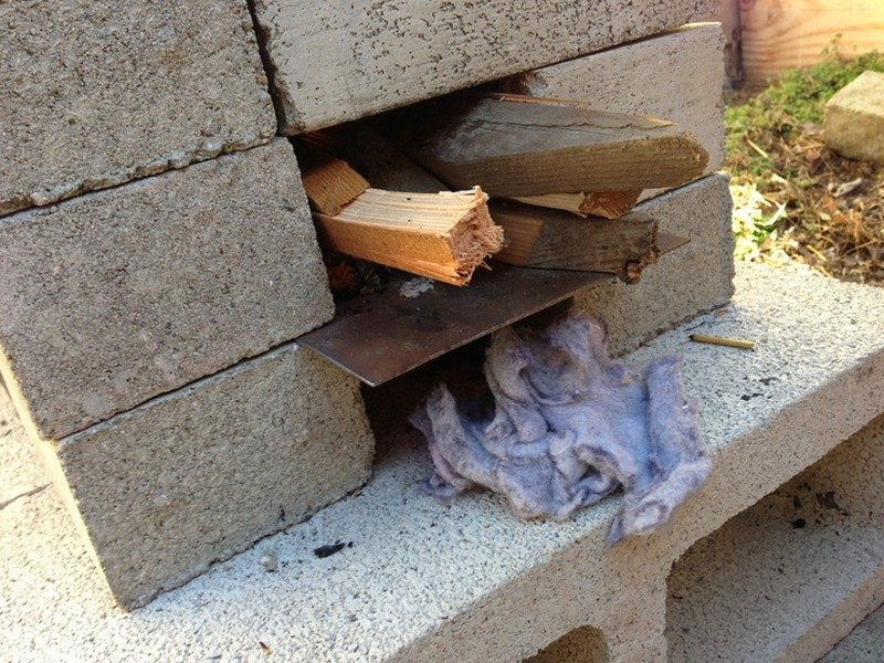 How to make a rocket stove with bricks best image for How to make a rocket stove with bricks