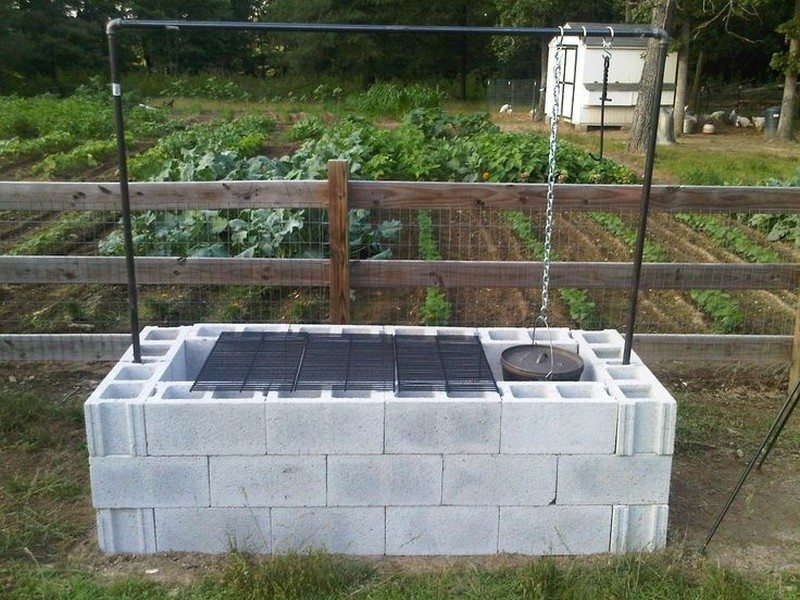 build a cinder block pit smoker for 250 the owner builder network