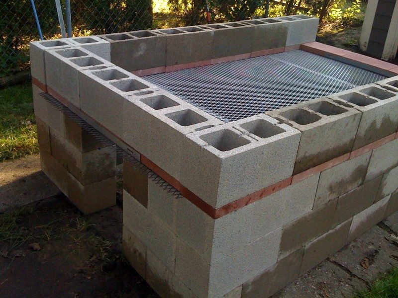 Build A Cinder Block Pit Smoker For 250