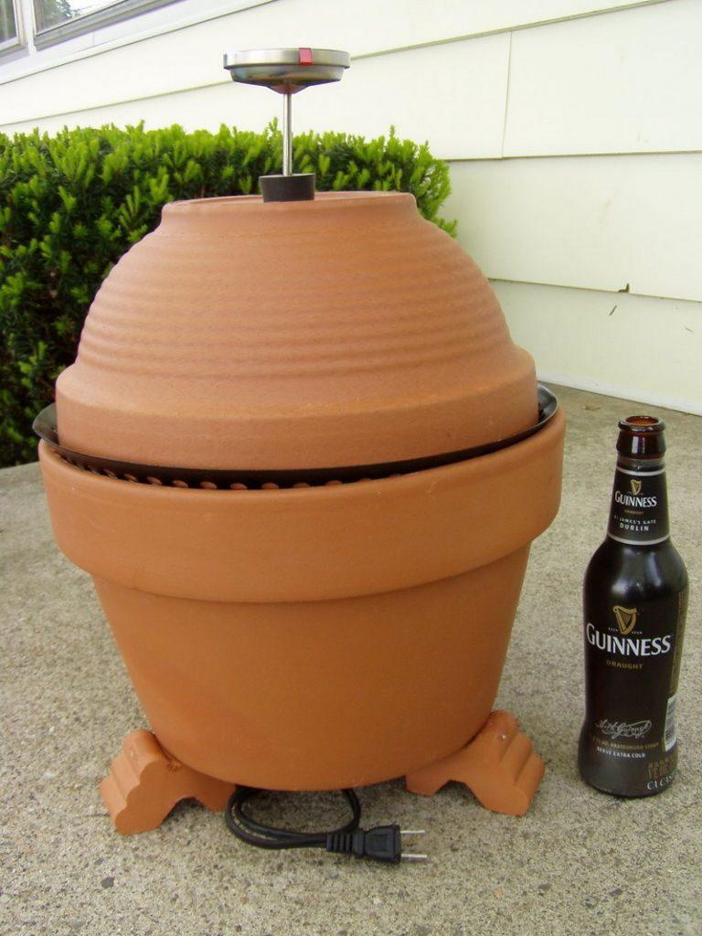 DIY Clay Pot Smoker