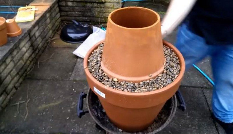 DIY Flower Pot Tandoor Oven