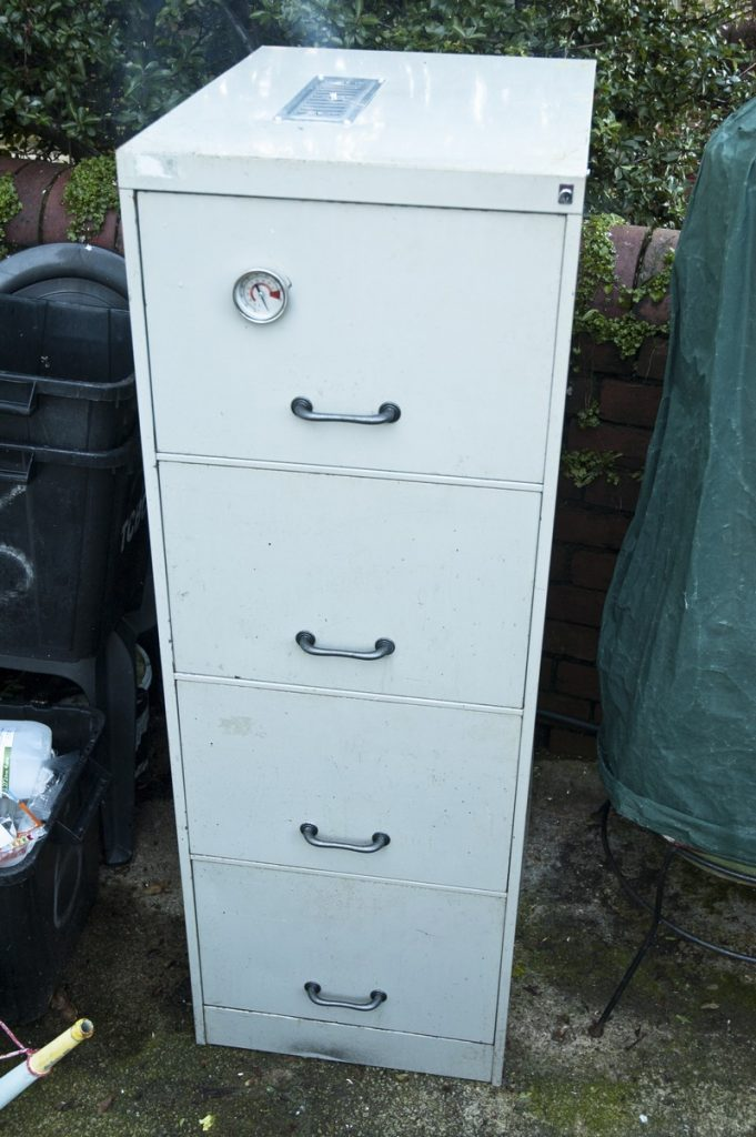 Turn That Old Filing Cabinet Into A Smoker