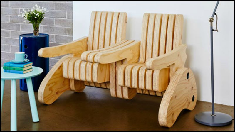 Multi-Function Seat That Turns Into a Bench, Armchair ...