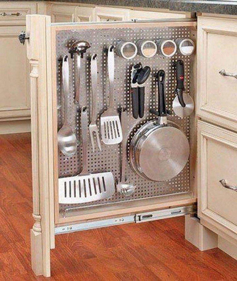 Clever Hidden Storage