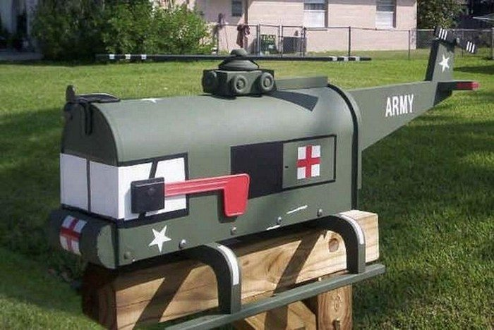 creative unusual mailbox ideas - Mailbox Design Ideas