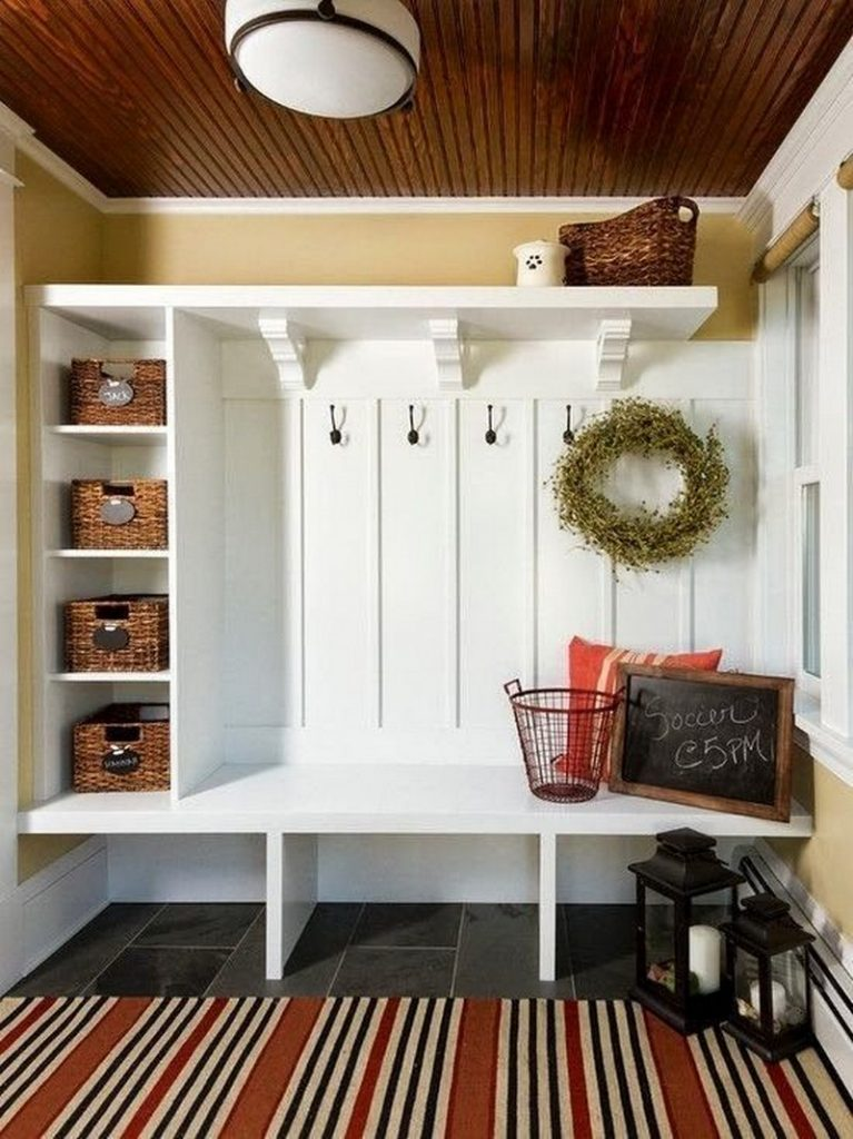 Diy Entryway Bench Easy Storage
