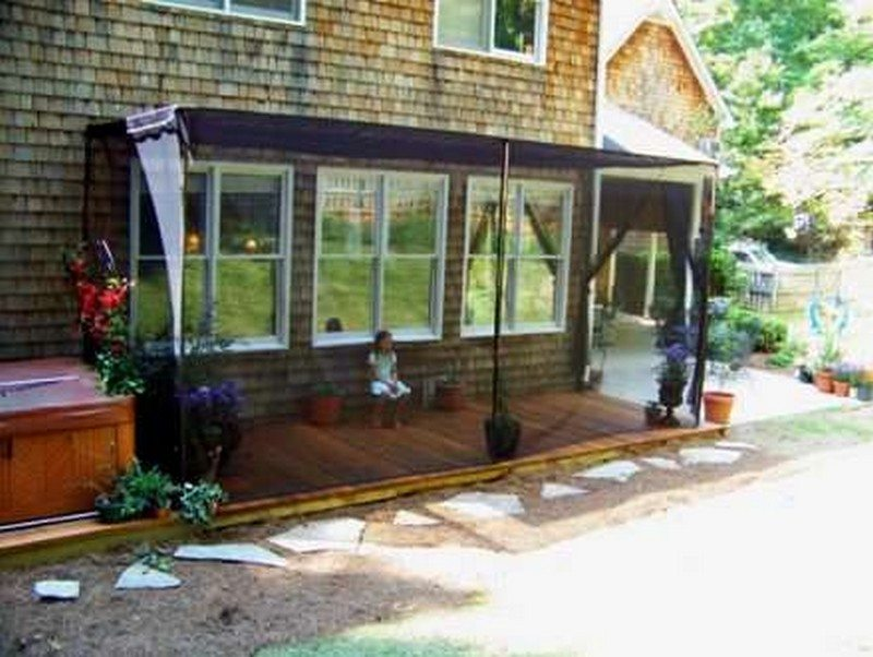 ... Patio Mosquito Screen By Privacy Screen Ideas For Your Outdoor Area ...