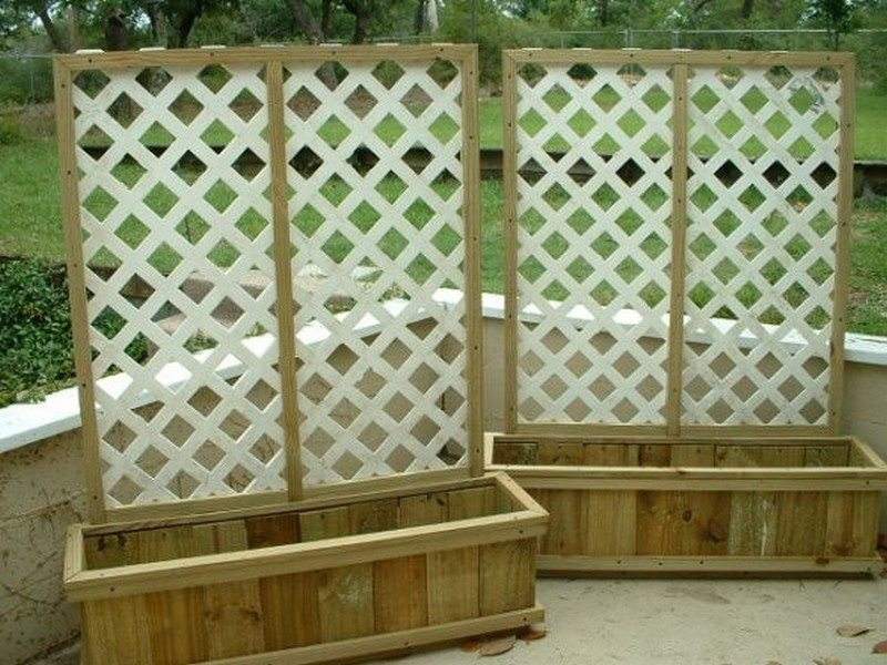 Privacy screen ideas for your outdoor area the owner for Creative privacy screen ideas
