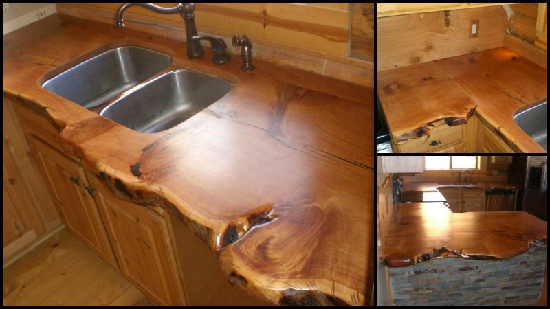 Rustic Timber Countertops The Owner