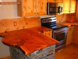 Rustic Wooden Countertops