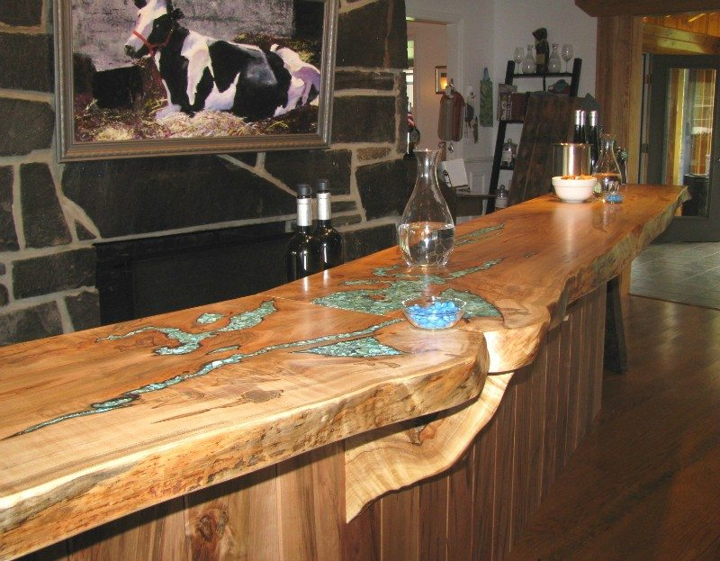 Rustic Timber Countertops - The Owner-Builder Network