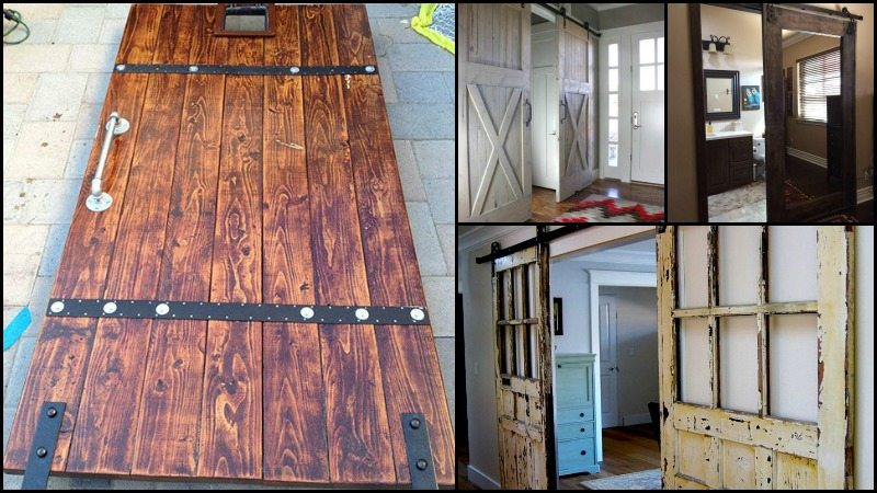 Stylish sliding barn door ideas stylish sliding barn door for Sliding main door