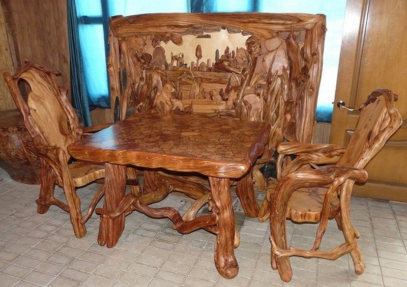 Unique Rustic Furniture The Owner Builder Network