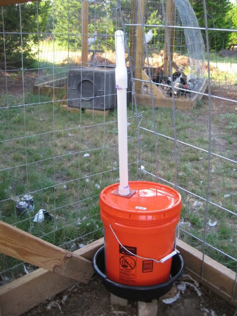 Chicken Water Station Ideas The Owner Builder Network