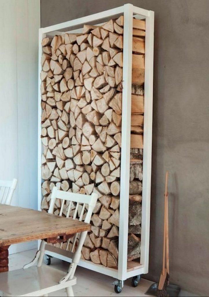Firewood Storage Ideas | Firewood Storage Ideas, Wood Fireplace