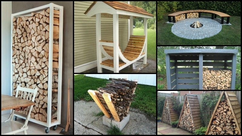 Fire Wood Storage Ideas Main Image