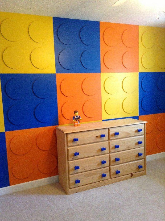 Ordinary Lego Themed Bedroom Decorating Ideas Part - 5: Lego Themed Bedroom Ideas