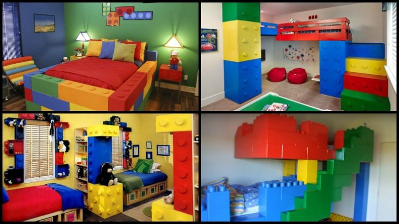 Lego Themed Bedroom Ideas Main Image