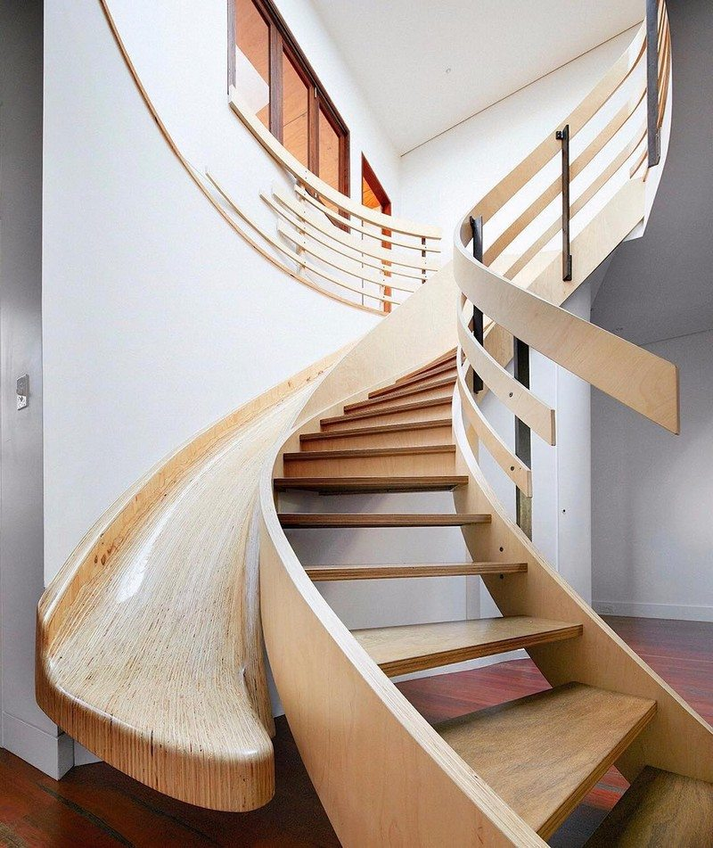 Awesome Stairs With Slides The Owner Builder Network