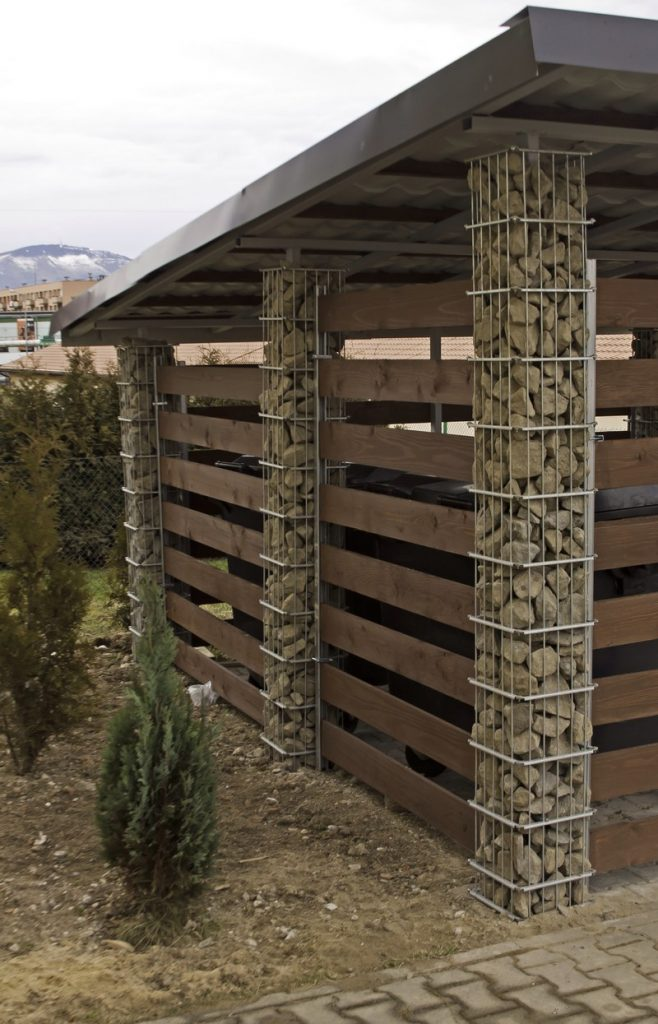 Practical ways to use gabions | The Owner-Builder Network