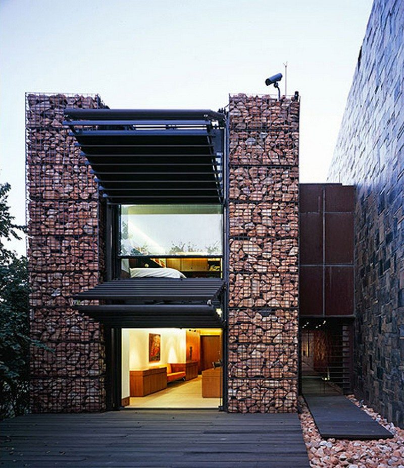 Home Design Ideas Architecture: Practical Ways To Use Gabions
