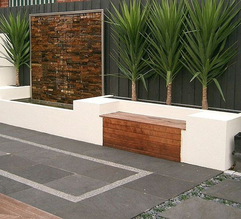 Water wall feature ideas the owner builder network for Water wall plans