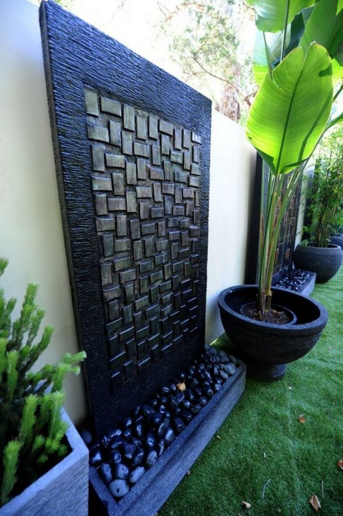 Water Wall Feature Ideas | The Owner-Builder Network