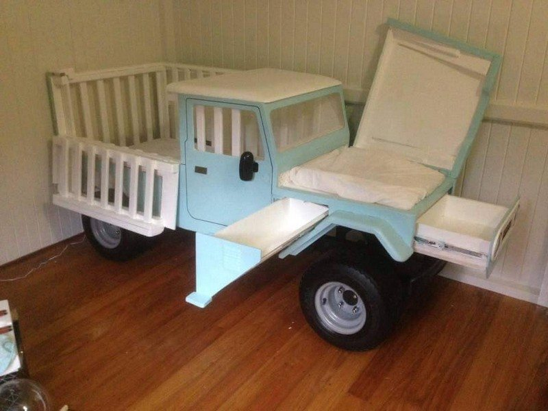 Unique Crib and Cradle Ideas