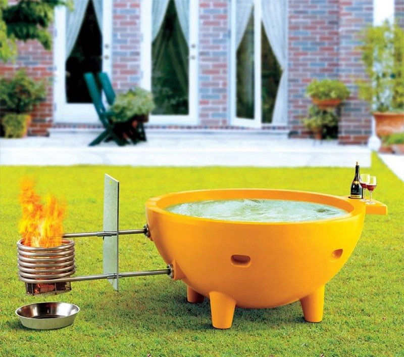 Fire Hot Tub