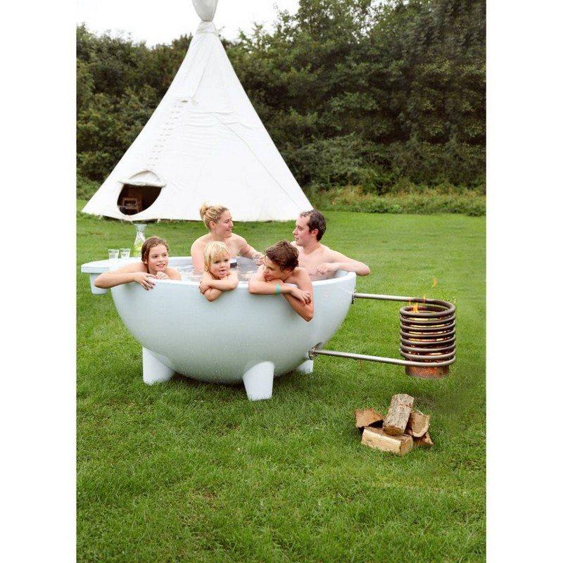 Fire Hot Tub