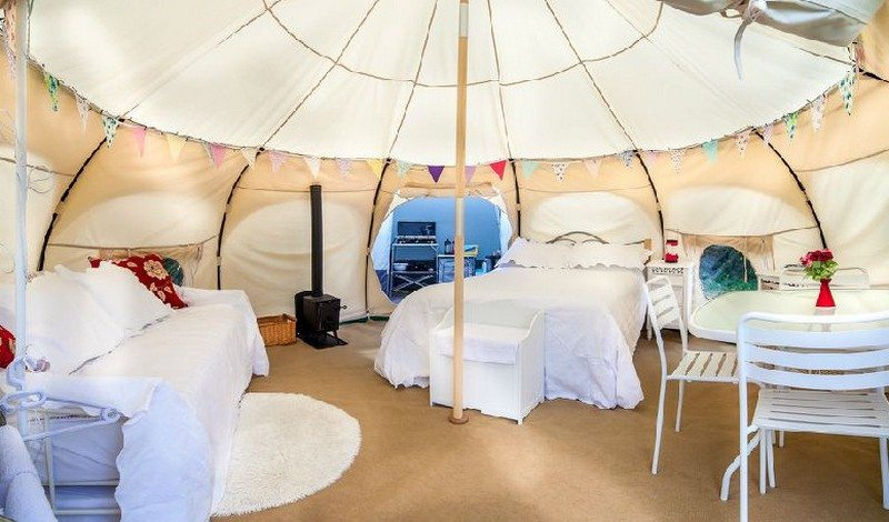 Camp In Style With Lotus Belle Glamping Tents The Owner Builder Network