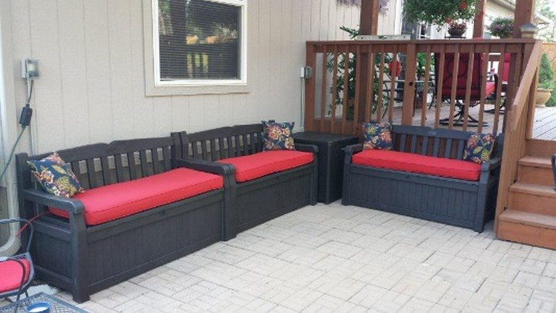 Outdoor Bench Storage